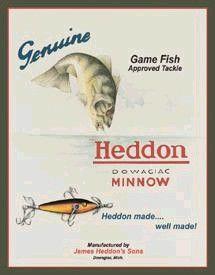 Heddon Minnow