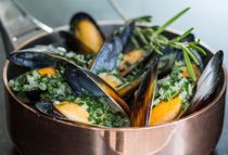 #Mussels season at the Atmosfera Restaurant! Starting June 6, the Atmosfera launches its mussel season.Come on up for the pleasure! #ukraine #kyiv #travel #luxury #premierpalacehotel #restaurant #taste #rooftop