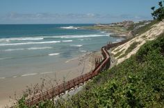 The walkway along Gonubie beach. Many of my childhood memories are set on this beach, albeit before the walkway was built. National Botanical Gardens, River Mouth, Snorkelling, Take Me Home, Beach Walk, Sunshine Coast, Nature Reserve, Sandy Beaches, East London