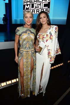 Julianne Hough and Nina Dobrev Are Having the Best Girls' Night at the AMAs: Julianne Hough and Nina Dobrev headed out to the American Music Awards in LA on Sunday in what was probably one of the cutest girls' nights ever.