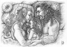 Tauriel, Kiliel and Kili