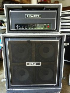 Hiwatt Lead 100 Guitar Amp Head and Speaker Cabinet