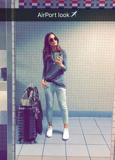 Airport Look, Airport Style, Casual Outfits, Summer Outfits, Black Women, Autumn Fashion, Chic, My Style, Womens Fashion