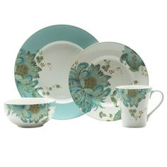 Eliza Spring 16pc Service for 4 - View All - Dinnerware