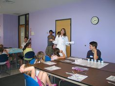 Get Cooking with Chemistry 2014 - Kids learn about chemestry from Salve Regina professor, Dr.  Susan Meschwitz.  July 22, 2014.