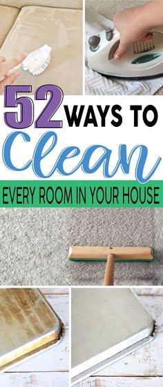 These tips will make it easier to clean around the house. I'm definitely pinning this! Cleaning Tips 52 Mind Blowing Cleaning Hacks To Keep Your Home Clean — Our Habitat Deep Cleaning Tips, House Cleaning Tips, Natural Cleaning Products, Cleaning Hacks, Diy Hacks, Cleaning Recipes, Clean House Tips, Spring Cleaning Tips, Natural Cleaning Solutions
