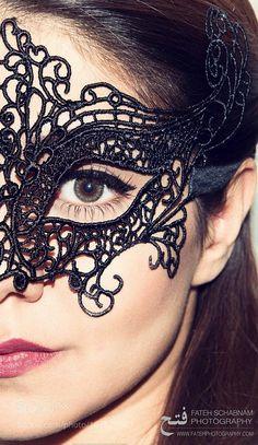 Masked by schabnamfateh Theater Masks, Halloween Face Makeup