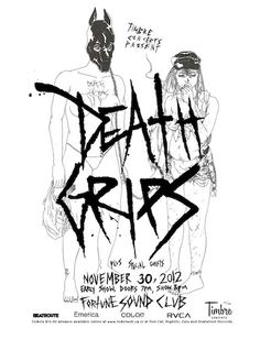 Massive show tonight in #Vancouver #RVCA & @Emerica. present Death Grips at Fortune Sound Club