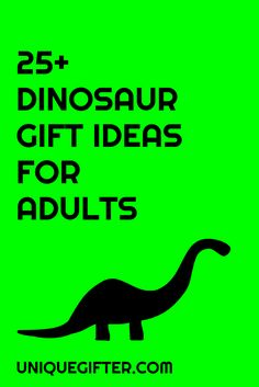 Why yes, I DO need some sweet dino gifts for myself, these are amazing! All of this awesome dinosaur stuff would be perfect for my husband's birthday present, too. Who says that dinosaurs are just for kids? Ross was cool, right?