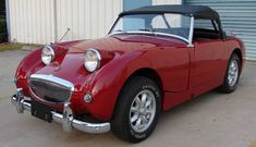 1960 Austin Healey Bugeye Sprite  Mine was exactly like this one.  Those were the best days!  Jeanne