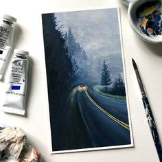 Kunstjournal Inspiration, Art Journal Inspiration, Art Inspo, Art And Illustration, Watercolor Illustration, Watercolor Paintings, Gouache Painting, Watercolour, Kunst Inspo