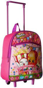 Shopkins Girls' Rolling Backpack #Top10BestRollingBackpacksforGirlsin2015Reviews
