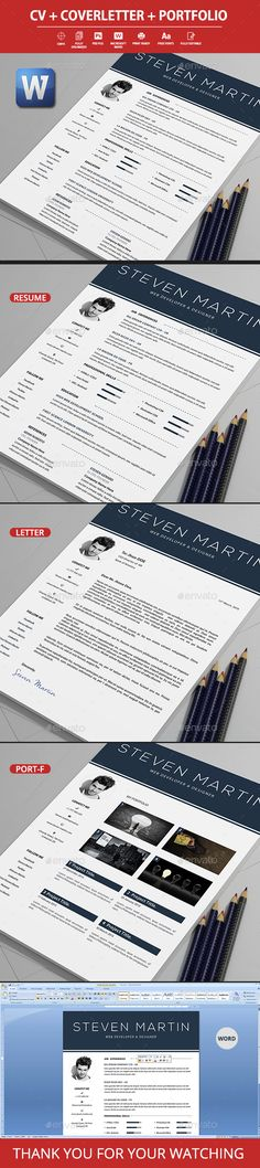 Modern Resume Template - 04 Modern resume template, Modern - resumes by design