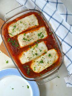Cuuking! Recetas de cocina: Merluza con tomate al horno ¡Fácil, sana y delicio...
