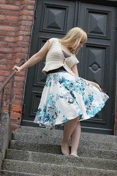 Improvised skirt