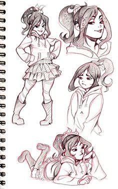 New Drawing Cute Disney Sketches Fan Art 70 Ideas Disney Sketches, Drawing Sketches, Pencil Drawings, Sketching, Disney And Dreamworks, Disney Pixar, Disney Characters, Vanellope Von Schweetz, Disney Animated Movies