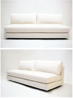 Simple Deep sofa as daybed
