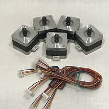 5 PCS NEMA 17 Stepper motor Kit 12V CNC 3D printer extruder SURPLUS DEAL WOW