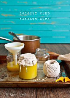 Coconut curd, a unique treat from Not Quite Nigella.