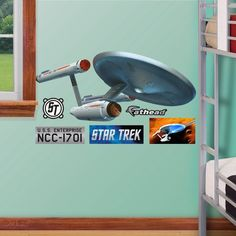 FATHEAD USS Enterprise NCC1701Fathead Jr Graphic Wall Dcor ** Continue to the product at the image link.(This is an Amazon affiliate link)