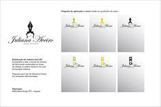 Cliente: Juliana Aveiro Design  Criação de logomarca