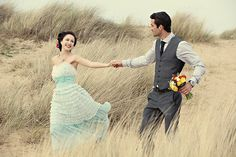 How gorgeous are these two? Featured on Rock n' Roll Bride ;)