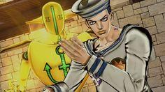 C'est aujourd'hui que sort officiellement Jojo's Bizarre Adventure: Eyes of Heaven en exclusivité sur Playstation 4 et Bandai Namco Entertainment Europe vous propose de découvrir une dernière vidéo du jeu qui est à la fois un trailer de lancement mais aussi un trailer de présentation de Jojolion, le huitième arc du manga. Le test du jeu sera publié dans les jours à venir sur le site !