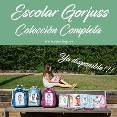 Ya está disponible en sueshop.es la Nueva Colección Escolar Gorjuss: mochilas, libretas, carpetas, estuches, plumieres, papeleras, cubiletes, agendas y un montón de cositas más!! @sueshop_es #gorjuss #santorolondon #escolar #nuevacoleccion #mochilas #estuches #agendas #plumieres #papeleras #cubiletes #libretas #carpetas #sueshop