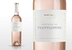 Château de Pampelonne — The Dieline - Branding & Packaging