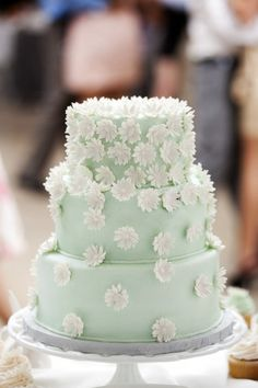 mint wedding.