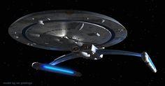 Centaur by Darth Mojo model by Ed Giddings Star Trek Rpg, Star Wars, Star Trek Ships, Starfleet Ships, Starship Concept, Star Trek Starships, Starship Enterprise, Star Trek Universe, Planet Of The Apes