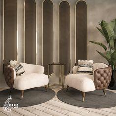 Luxury Sofa, Luxury Living, Modern Living, Luxury Furniture Stores, Italian Furniture Design, Modern Sofa Designs, Lounge Design, Single Sofa, Arm Chairs