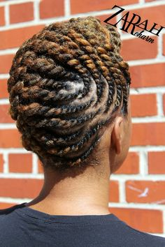 Flat twist pinup by ZarahCharm  Are you completely clueless with your natural hair journey? Purchase the Ultimate Natural Guide by Stylist Zarah Charm .
