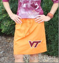 School Pride Pillowcase Skirt