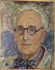 self portrait by Leon de Smet, (Belgian 1881-1966)