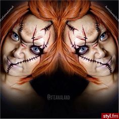I'm going to do Josh as.chucky and I'm going to do bride of chucky :)