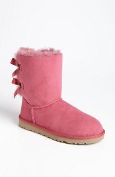 WANT THIS SO MUCH!!!!!!!!!!!!!  UGG® Australia 'Bailey Bow' Boot (Women) available at #Nordstrom