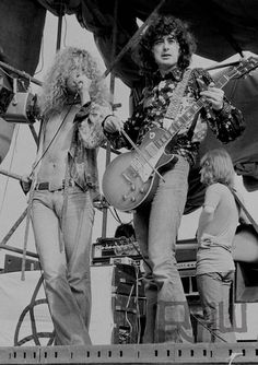 Robert Plant and Jimmy Page of Led Zeppelin #RobertPlant #JimmyPage #LedZeppelin #Zeppelin #LedZep #Zep