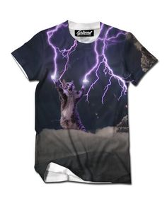 Lightning Cat Men's Tee