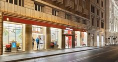 Ferrari opens renovated store in Rome Italy