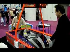 Challenger Neon Air Hockey Table - BMI Gaming - Barron
