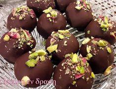 Σοκολατάκια με σιμιγδάλι και μελομακάρονα που περισσεψαν Bakery, Muffin, Food And Drink, Pudding, Sweets, Snacks, Cooking, Breakfast, Desserts
