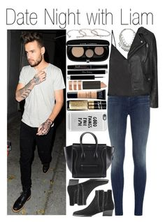 """• Date Night with Liam"" by dianasf ❤ liked on Polyvore featuring Payne, J Brand, Protagonist, Topshop, Michael Kors, Casetify, Gorjana, Marc Jacobs, Christian Dior and Bourjois"