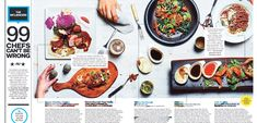 """Nominated in Art Direction for a Single Magazine Article. """" #Chef's Guide to #Toronto"""" by Vanessa Wyse published in The #Grid."""