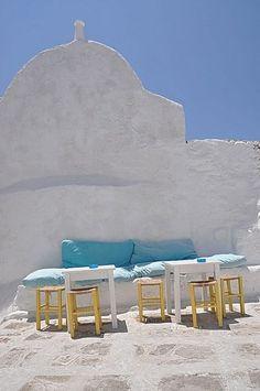 cafe @ Greece