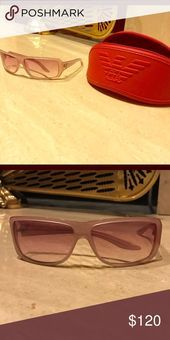 Armani sunglasses These are Armani sunglasses and come with a case. They are a pink/light purple in color. lens is not to dark in color A/X Armani Exchange Accessories Glasses Armani Exchange Sunglasses, Light Purple, Fashion Tips, Fashion Design, Fashion Trends, Best Deals, Womens Fashion, Lens, Accessories