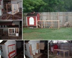 If you're thinking of raising chickens in your backyard, then this project might inspire you! Learn how to make a backyard chicken coop by viewing the full album of this project at http://theownerbuildernetwork.co/3m37 Could you use one of these in your backyard?