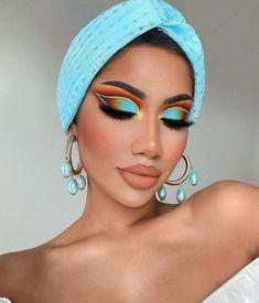 Makeup Eye Looks, Creative Makeup Looks, Eye Makeup Art, Glam Makeup, Face Makeup, Makeup Style, Beauty Makeup, Makeup Trends, Makeup Inspo