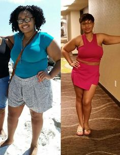 Whitney Herrington before and after weight loss