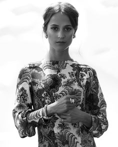 """Alicia Vikander: """"What I find sexy is something much more than tank tops"""""""